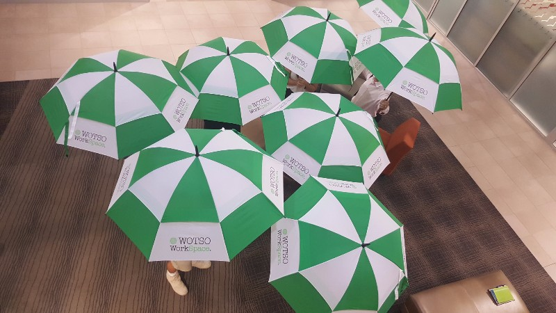 wotso-workspace-branded-umbrellas
